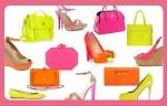 bolsos y zapatos fluor