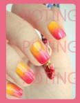 degradado uñas