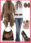 outfit marrones