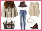 outfit capa-poncho