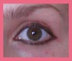 ojo delineado