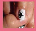 nail art araña