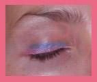delineado rosa azul