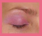 sombra rosa morada