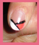 diseño uñas varios colores