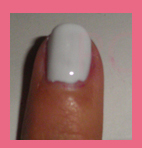 esmalte blanco