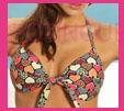 bikini corazones