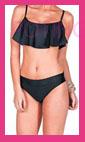 bikini flecos largos
