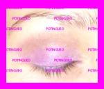 cuenca ojo marrón