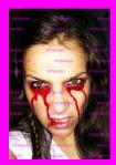 maquillaje sangriento