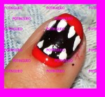 nail art boca halloween