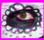 pintar ojo negro