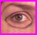 delimitar ojo