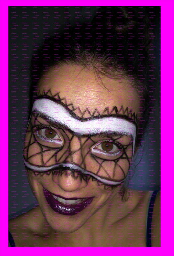 La máscara para los ojos de las arrugas con el perejil