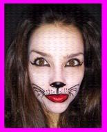 maquillaje gato