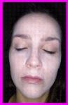 blanquearse la cara