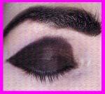 pintar cejas de negro