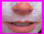 nariz y boca payaso