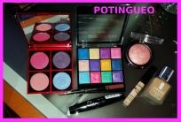 Productos maquillaje morado